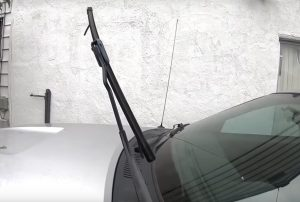 Clean Your Wiper Blades and Windshield